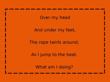 Riddle Poems- Infer the meanings