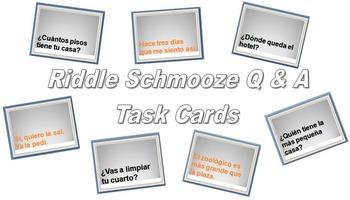 Riddle Schmooze (Spanish House, Hospital, City, Restaurant Q's & A's)