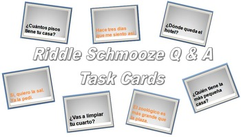 Riddle Schmooze (Spanish House, Hospital, City, Restaurant
