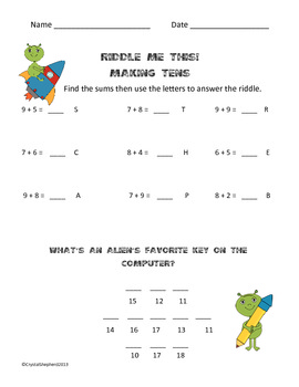 Riddle me this Addition and Subtraction 4 pack