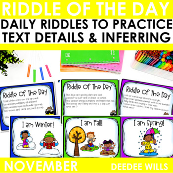 Riddle of the Day | November