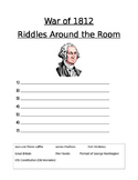 Riddles Around the Room Answer Sheet War of 1812