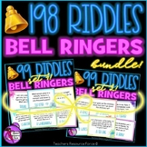 Distance Learning Riddles / Brain Teasers / Bell Ringer Activities BUNDLE