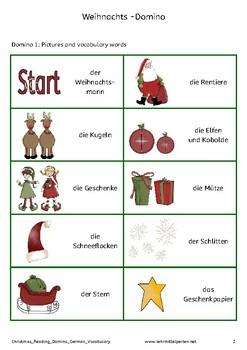 riddles dominoes german christmas vocabulary words by marisa herzog. Black Bedroom Furniture Sets. Home Design Ideas