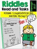Riddles Read and Tasks Set 1