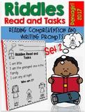 Riddles Read and Tasks Set 2