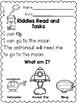 Riddles Read and Tasks Set  4