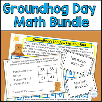 Riddles for Two-Digit Numbers ~ Mr. Groundhog's Missing Shadow