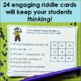 Number Logic Task Cards for Two-Digit Numbers Pirates