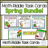 Spring Bundle Two-Digit Number Puzzles