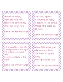 Riddles to Promote Literacy Development and Reading Comprehension