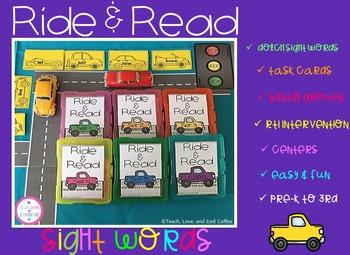 Ride & Read Sight Words