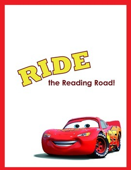 Ride The Reading Road home reading chart