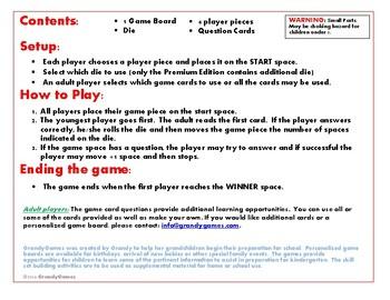 Ride 'em Cowboy Board Game for Preschoolers