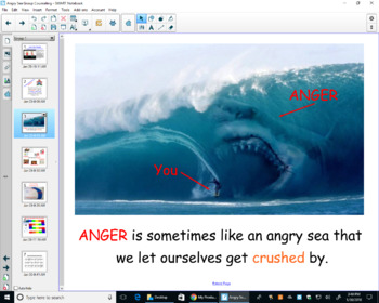 Ride the Angry Sea Group Counseling Notebook