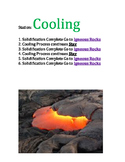 Ride the Rock Cycle Station Labels