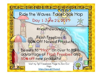 Ride the Wave: Facebook Hop Day 1