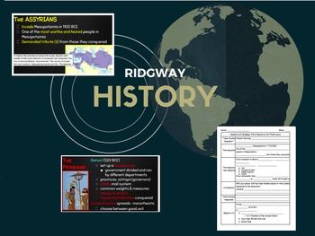 Ridgway History | World History Episode 7: Mesopotamia: Impalers to Snailors