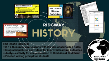 Ridgway History | Episode 10: Harrowing Hinduism & Bizarre Buddhism