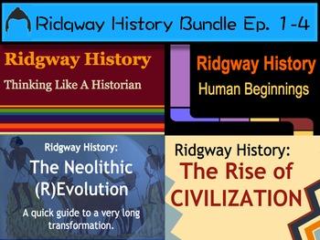 Ridgway History | World History Episodes 1-4 Bundle: Intro to World History