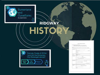 Ridgway History | World History Episodes 5-8 Bundle: Early Civilizations
