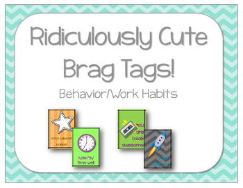 Ridiculously Cute Brag Tags Behavior