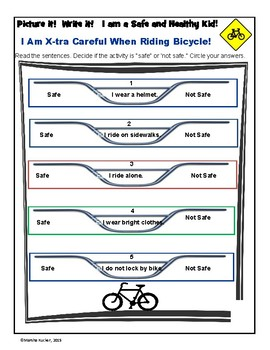 Bicycle Safety Decisions Safe or Not Safe?