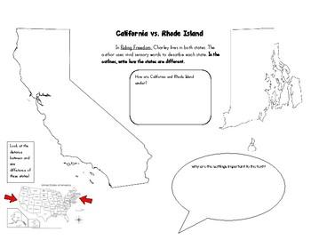 Riding Freedom California vs. Rhode Island