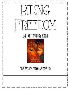 Riding Freedom Guided Reading Packet