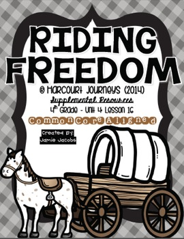 Riding Freedom (Journeys 4th Gr. - Supplemental Materials)