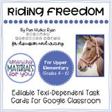 Riding Freedom (Muñoz Ryan) *DIGITAL* Discussion Cards for Google Classroom