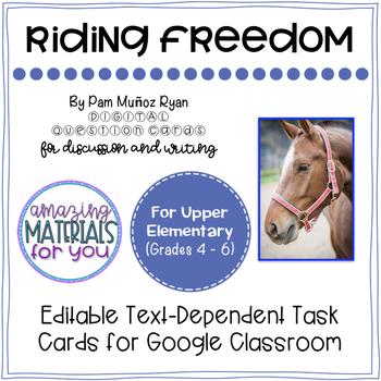 Riding Freedom (Muñoz Ryan) *DIGITAL* Discussion Cards