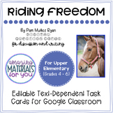 Riding Freedom (Muñoz Ryan) *DIGITAL* Discussion Cards for Google Classroom