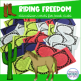 #spectacularspringdeals Riding Freedom (Munoz Ryan) Discussion Cards