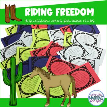 Riding Freedom (Muñoz Ryan) Discussion Cards