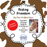 Riding Freedom (Muñoz Ryan) Figurative Language FREEBIE