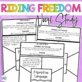 Riding Freedom (Muñoz Ryan) Figurative Language FREEBIE