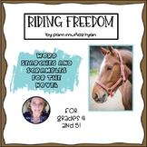 Riding Freedom (Muñoz Ryan) Word Searches and Scrambles