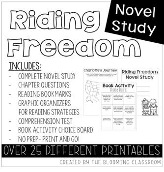 Riding Freedom Novel Study
