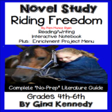 Riding Freedom Novel Study and Enrichment Project Menu