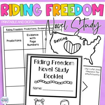 Riding Freedom (Pam Muñoz Ryan) A Complete Novel Study