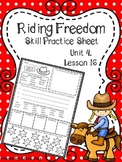 Riding Freedom (Skill Practice Sheet)