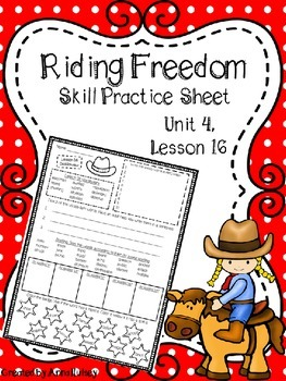 Riding Freedom (Skill Practice Sheet)