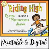 TEKS 3.4, 3.5 / Riding High: Relating Multiplication & Division