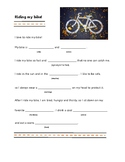 Riding My Bike: Mad Libs for semantic categories