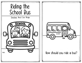Riding a School Bus Setting Expectations - Back to School & Field Trips too!