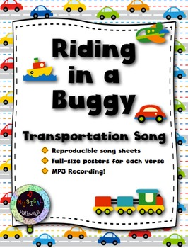 Riding in a Buggy - with MP3 recording!