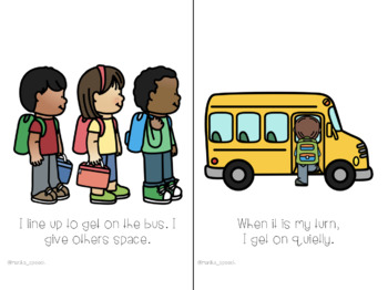 Riding the Bus - Interactive Social Story