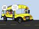 Social Skills: Riding the Bus Social Comic Strip