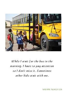 Riding the School Bus Social Story